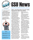 GSU News - Issue 5 - 2013